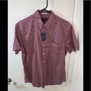 J. CREW LIBERTY FABRIC SS SHIRT (BRAND NEW)